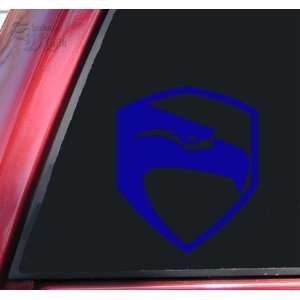 Joe / GI Joe Movie Logo Vinyl Decal Sticker   Blue Automotive