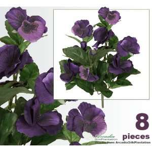 Artificial Silk Flower Bushes for Home Decoration