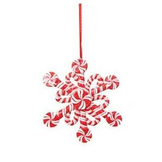 Candy Crush Snowflake Peppermint Swirl Candy Cane Christmas