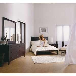 Solutions Retro 6 Piece Cappuccino Bedroom Set