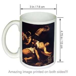 Caravaggio Art COFFEE MUG The Crucifixion of St. Peter