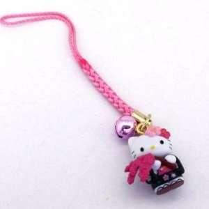 com Sanrio Hello Kitty Sakura Cherry Blossom Netsuke Cell Phone Charm