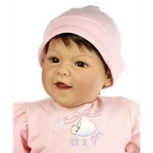 Middleton Doll Cuddle Baby Mothers Joy Girl   Brown/Brown