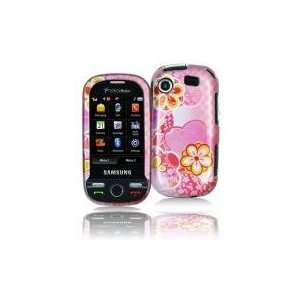 ON CELL PHONE CASE FACEPLATE COVER FOR SAMSUNG MESSAGER TOUCH R630