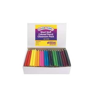 Short Stuff Colored Pencils   Set of 100: Toys & Games