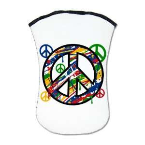 Kindle Sleeve Case (2 Sided) Peace Symbol Sign Dripping