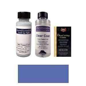 2 Oz. Daytona Blue Metallic Paint Bottle Kit for 1979