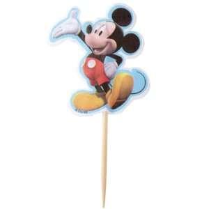 Disney Wilton Mickey Mouse Cupcake Fun Pix   24 Cupcake Picks