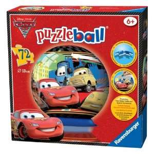 Disney Cars 2 72 Pieces Puzzle Ball Jigsaw Toys & Games