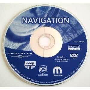 AC Dodge Chrysler Jeep OEM Navigation DVD Disc Disk GPS