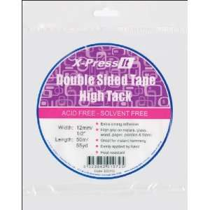 X Press It High Tack Double Sided Tissue Tape 1/2X55