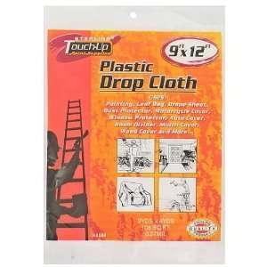 24 Plastic Drop Cloths 9x12