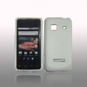 smartphone Rubberized Hard Case   White Cell Phones & Accessories