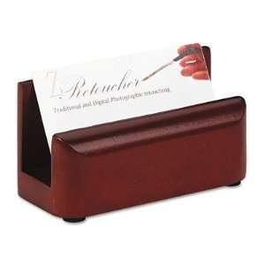 Rolodex Wood Tones Business Card Holder ROL23330 Office