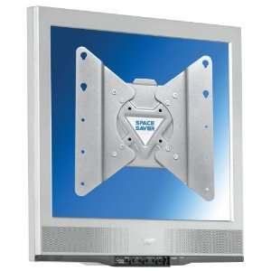 Space Saver Flat Screen TV Wall Mount Bracket, Fixed Mount, 13 to 40