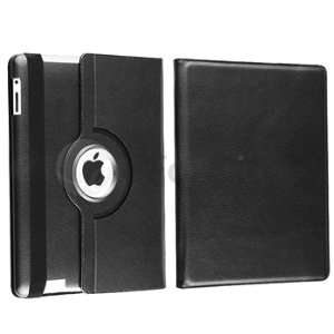 360 Degree Rotating Magnetic Leather Case Cover Stand