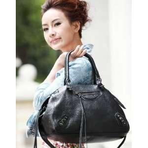 100% Real Genuine Leather Purse Shoulder Bag Handbag Tote