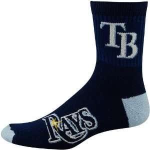 MLB Tampa Bay Rays Navy Blue Team Color Block Socks