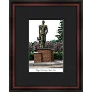 Michigan State University Spartan Statue Academic  Sports