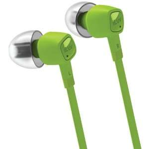 High Performance Earphones with Speakez Remote (Green) Electronics