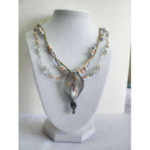 Handmade Jewelry   Mirkwood Necklace & Earring Set Arts, Crafts