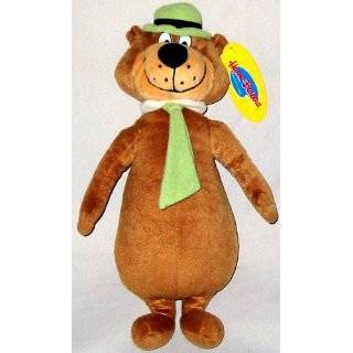 Hana Barbera Cartoon Icon 12 Plush Yogi Bear Doll Toy  Toys & Games