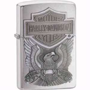 com Zippo Lighters 16284 Harley Davidson Made in the USA Emblem Zippo