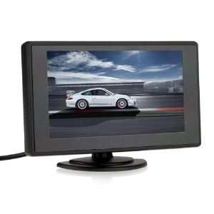 Inch TFT LCD Digital Car Rear View Monitor PAL/NTSC of High