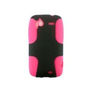 COVER CASE PERFECT FIT  BLACK / HOT PINK Cell Phones & Accessories