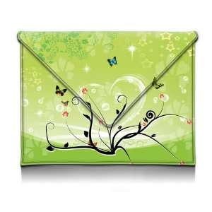 9 inch Spring Blossoming Flowers With Butterfly Heart
