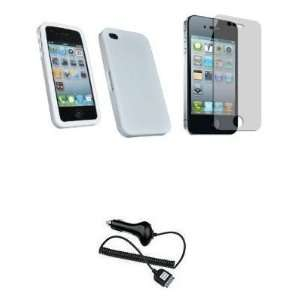 Mobile Palace   White silicone skin case cover pouch
