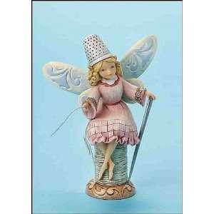 Jim Shore, We All Needle Little Love Fairy Figure  Kitchen