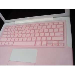 Pink Macbook 13 Silicone Keyboard Cover (1st Generation