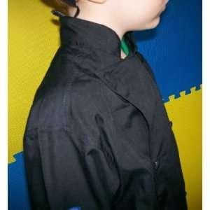 CHEFSKIN KIDS CHILDREN HALLOWEEN COSTUME CHEF SET (BLACK CHEF JACKET
