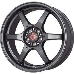 Konig Matt Black Wheel (17x7.5/4x100mm) Automotive