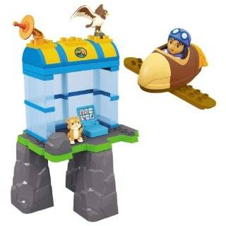 Mega Bloks Diegos Animal Rescue Center  Toys & Games