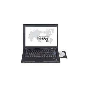 Lenovo ThinkPad T61 Notebook   Intel Core 2 Duo T8100 2.1GHz   14.1