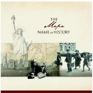 The Mapa Name in History Ancestry Books