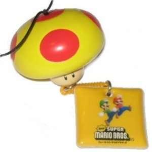 Nintendo Super Mario Bros. Mega Mushroom Mario Luigi Charm