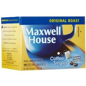 Maxwell House Coffee Singles, 19 ct: Grocery & Gourmet Food