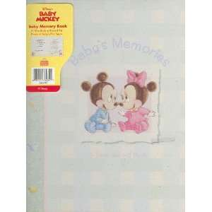 BABY Mickey Minnie Mouse RECORD BOOK