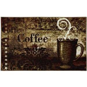 Home Decorating on Mohawk Home Baroque Coffee Kitchen Rug  Home   Kitchen
