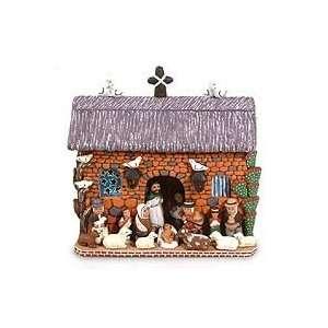 Ceramic nativity scene, Christmas is at Home