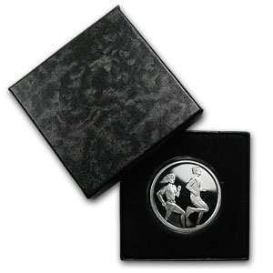 1 oz Running Silver Round (w/Gift Box & Capsule)