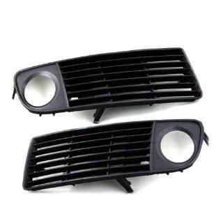 2 Pieces of Front Lower Fog Light Side Grille Bumper Vent