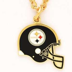 NFL Pittsburgh Steelers Necklace   Helmet Sports