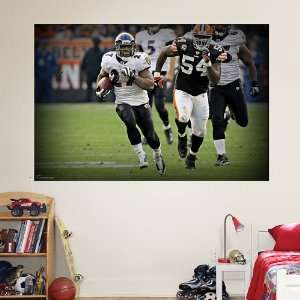 NFL Ray Rice Touchdown Mural Vinyl Wall Graphic Decal Sticker