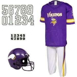 NFL Minnesota Vikings Youth Purple Deluxe Team Uniform Set