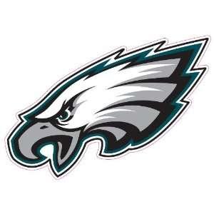 Philadelphia Eagles Team Auto Window Decal (12 x 10  inch)