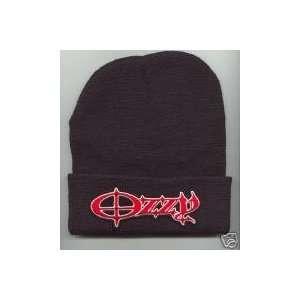 OZZY Osbourne Beanie HAT SKI CAP Skull Cap Black NEW
